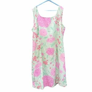 Lilly Pulitzer Silk Floral Dress